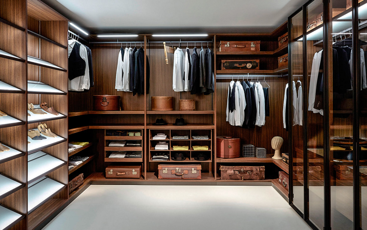 Cute his and hers walk in closet ideas pictures dream home - Diseno de armarios ...